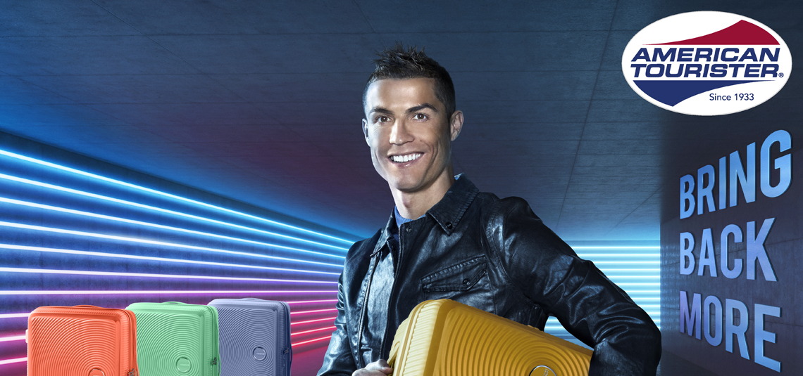 American Tourister announces Cristiano Ronaldo as its global brand ambassador for 2018